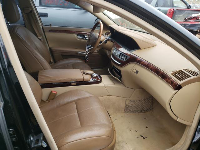 2008 MERCEDES-BENZ S 550 - Left Rear View