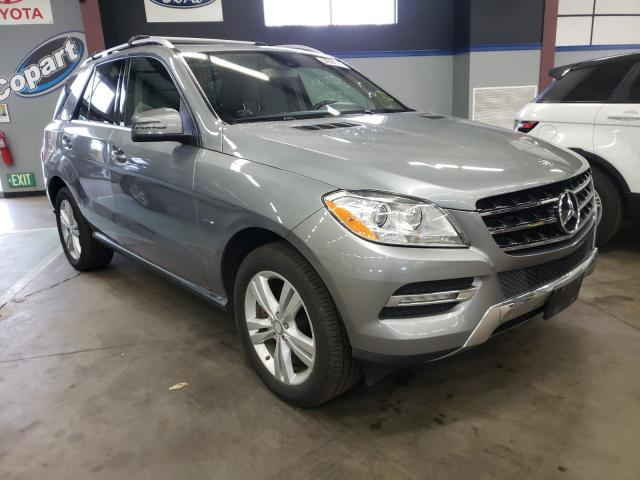 2012 Mercedes-Benz ML 350 4matic en venta en East Granby, CT