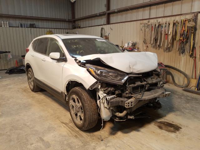 Salvage cars for sale from Copart Abilene, TX: 2019 Honda CR-V EXL