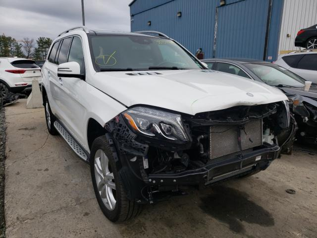 Salvage cars for sale from Copart Windsor, NJ: 2017 Mercedes-Benz GLS 450 4M