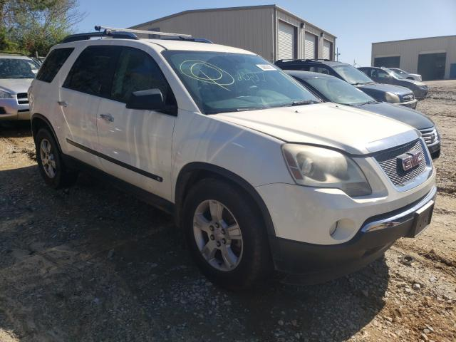 Salvage cars for sale from Copart Gainesville, GA: 2009 GMC Acadia SLE
