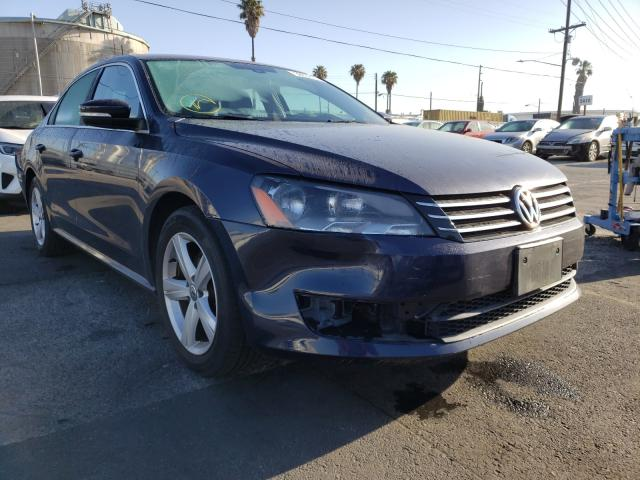 Salvage cars for sale from Copart Wilmington, CA: 2015 Volkswagen Passat SE