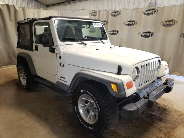 Salvage cars for sale from Copart Tifton, GA: 2005 Jeep Wrangler X