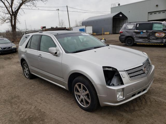 Salvage cars for sale from Copart Montreal Est, QC: 2004 Cadillac SRX