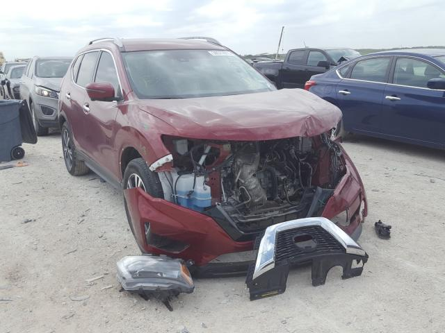 Nissan salvage cars for sale: 2019 Nissan Rogue S