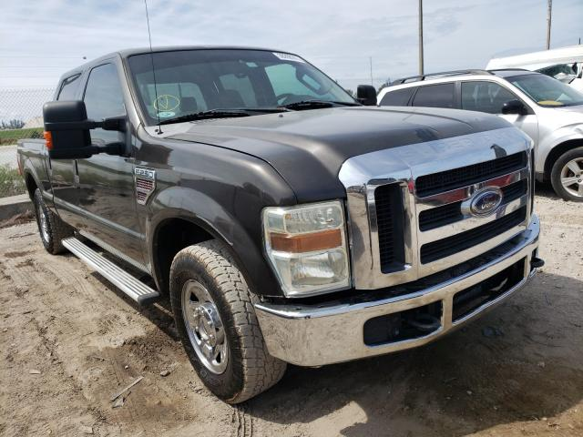 Salvage cars for sale from Copart West Palm Beach, FL: 2008 Ford F250 Super