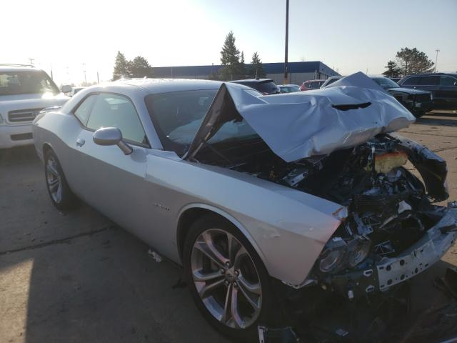 Salvage cars for sale from Copart Woodhaven, MI: 2021 Dodge Challenger