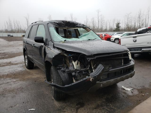 Salvage cars for sale from Copart Angola, NY: 2005 Honda Pilot EXL