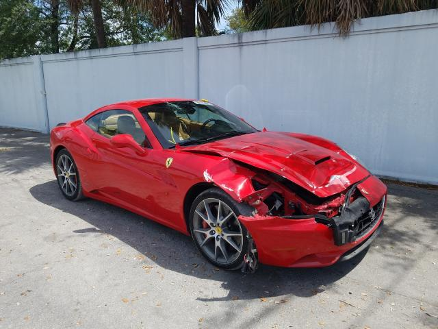 Ferrari California salvage cars for sale: 2011 Ferrari California