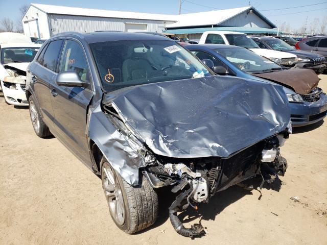 Salvage cars for sale from Copart Pekin, IL: 2016 Audi Q3 Prestige