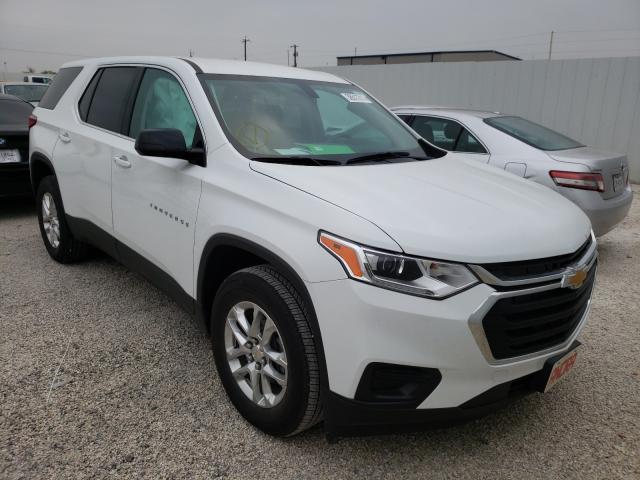 Salvage cars for sale from Copart San Antonio, TX: 2020 Chevrolet Traverse L