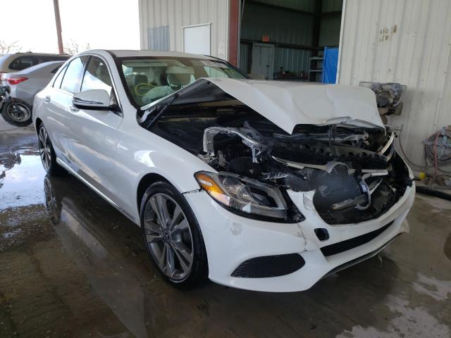 Salvage cars for sale from Copart Homestead, FL: 2018 Mercedes-Benz C300