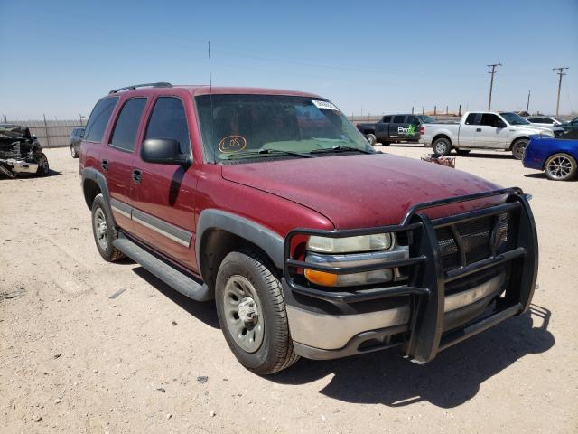 Salvage cars for sale from Copart Andrews, TX: 2004 Chevrolet Tahoe C150