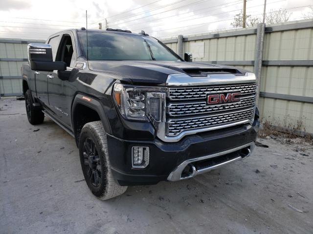 Salvage cars for sale from Copart Homestead, FL: 2021 GMC Sierra K25