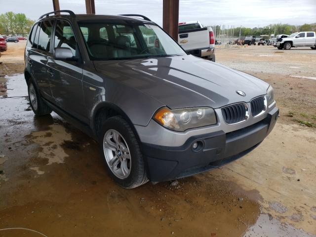 Salvage cars for sale from Copart Tanner, AL: 2004 BMW X3 3.0I