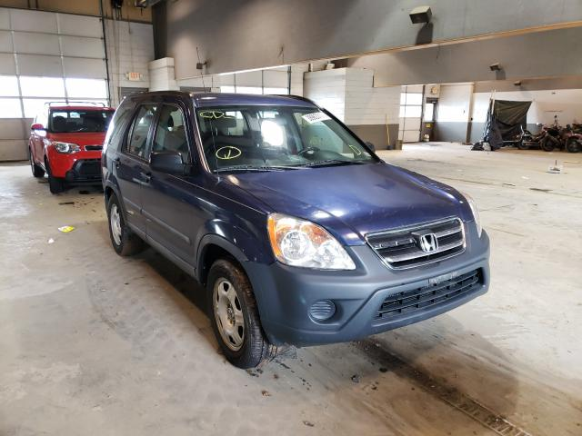 Salvage cars for sale from Copart Sandston, VA: 2005 Honda CRV
