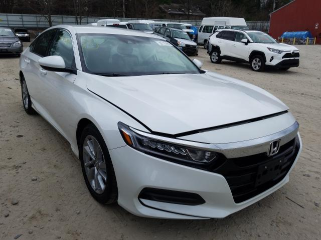 Salvage cars for sale from Copart Mendon, MA: 2020 Honda Accord LX