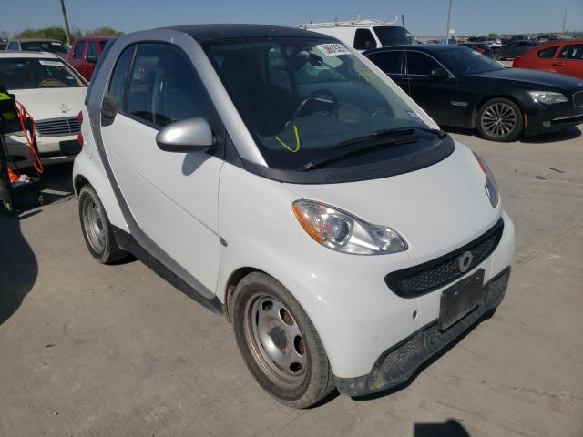 Smart salvage cars for sale: 2015 Smart Fortwo PUR