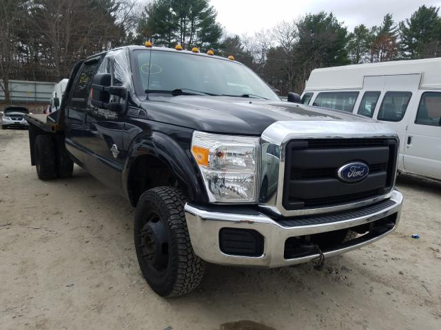Salvage cars for sale from Copart Mendon, MA: 2015 Ford F350 Super
