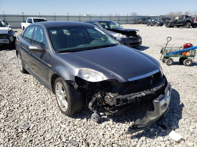 Salvage cars for sale from Copart Appleton, WI: 2008 Acura TL