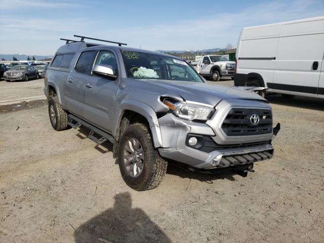 Salvage cars for sale from Copart Arlington, WA: 2017 Toyota Tacoma