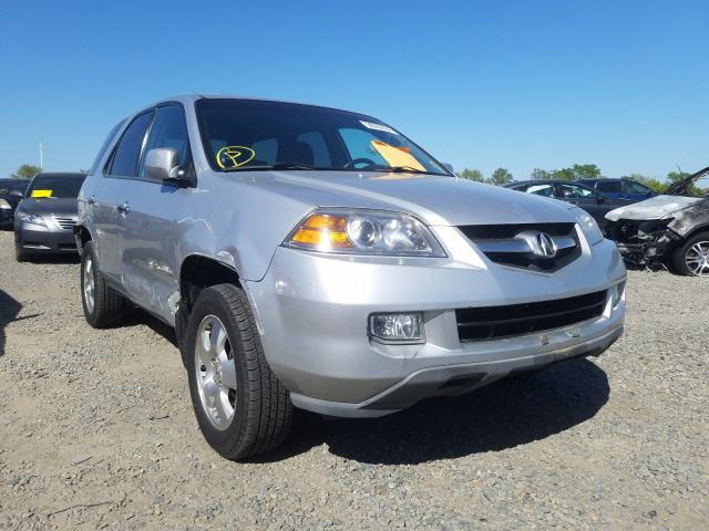 Acura salvage cars for sale: 2006 Acura MDX