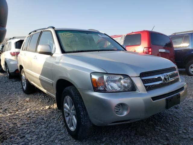 Salvage cars for sale from Copart Lexington, KY: 2006 Toyota Highlander