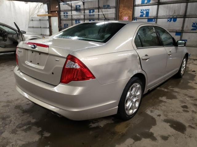 2010 FORD FUSION SE - Right Rear View