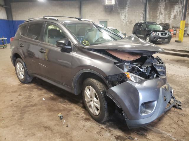 Salvage cars for sale from Copart Chalfont, PA: 2015 Toyota Rav4 LE