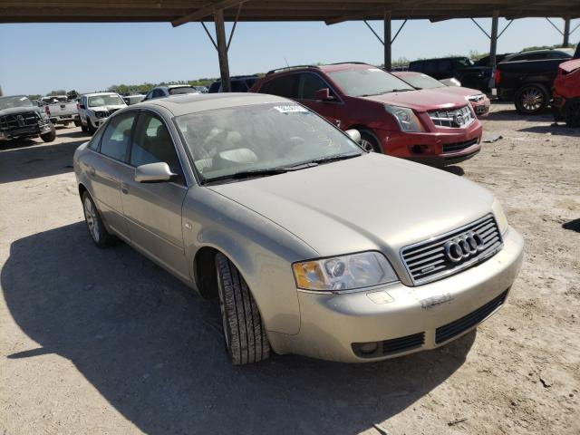 Salvage cars for sale from Copart Temple, TX: 2003 Audi A6 3.0 Quattro