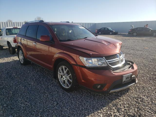 Salvage cars for sale from Copart Wichita, KS: 2013 Dodge Journey CR