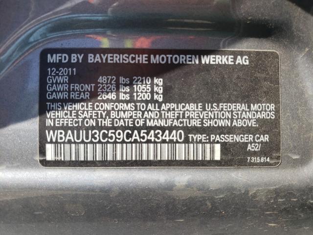 2012 BMW 328 XI WBAUU3C59CA543440