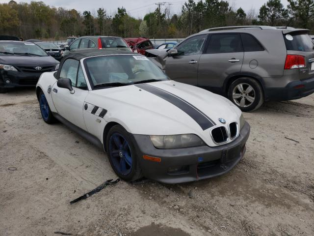 Salvage cars for sale from Copart Hampton, VA: 2000 BMW Z3 2.3