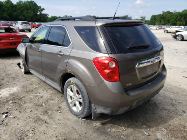 2012 CHEVROLET EQUINOX LT - Right Front View