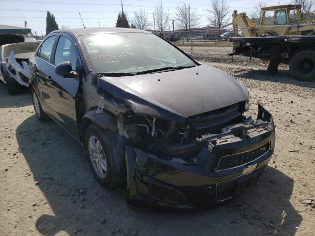 Salvage cars for sale from Copart Eugene, OR: 2016 Chevrolet Sonic LT