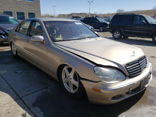 Salvage cars for sale from Copart Littleton, CO: 2004 Mercedes-Benz S 500