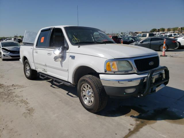 Vehiculos salvage en venta de Copart Grand Prairie, TX: 2002 Ford F150 Super
