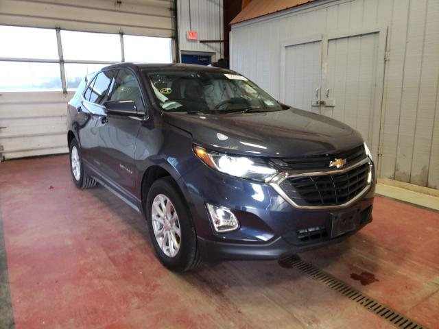 Salvage cars for sale from Copart Angola, NY: 2018 Chevrolet Equinox LT