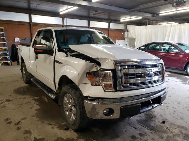 Salvage cars for sale from Copart Ebensburg, PA: 2014 Ford F150 Super