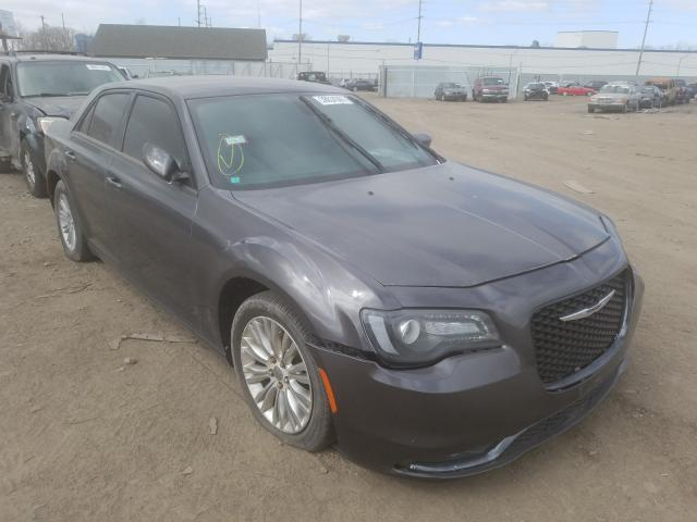 Salvage cars for sale from Copart Hammond, IN: 2015 Chrysler 300 S