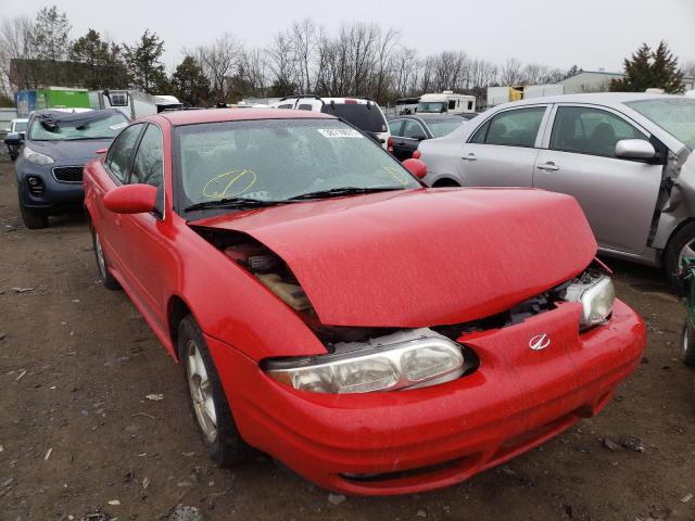 Oldsmobile salvage cars for sale: 2002 Oldsmobile Alero GL