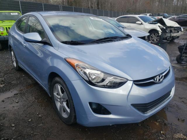Salvage cars for sale from Copart Waldorf, MD: 2012 Hyundai Elantra GL