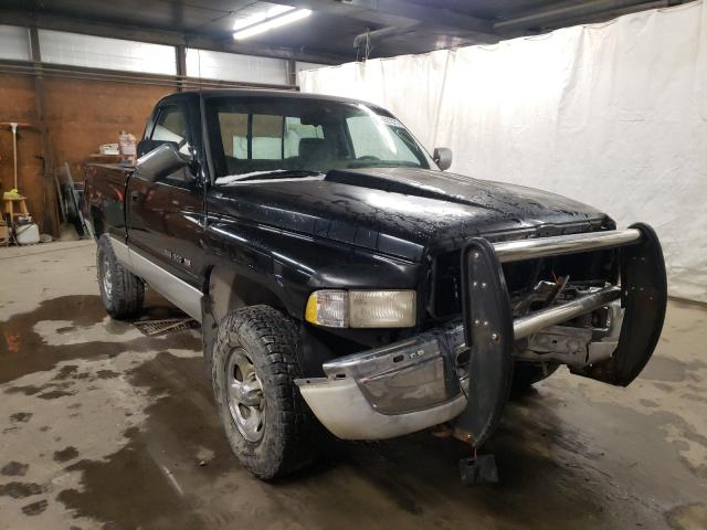 Salvage cars for sale from Copart Ebensburg, PA: 1995 Dodge RAM 1500