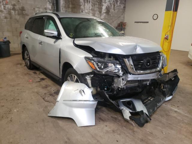 Salvage cars for sale from Copart Chalfont, PA: 2017 Nissan Pathfinder