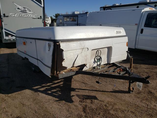Coleman salvage cars for sale: 2002 Coleman Trailer