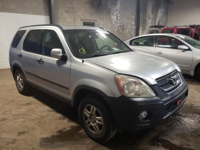 Salvage cars for sale from Copart Grantville, PA: 2005 Honda CR-V EX