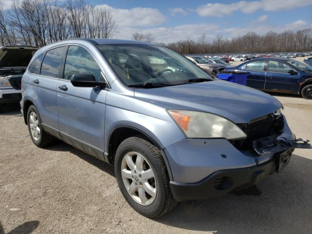 Salvage cars for sale from Copart Milwaukee, WI: 2009 Honda CR-V EX