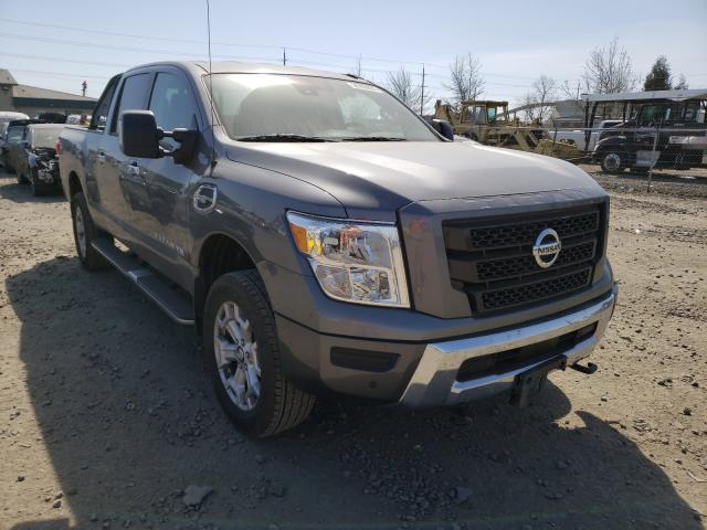 Salvage cars for sale from Copart Eugene, OR: 2020 Nissan Titan XD S