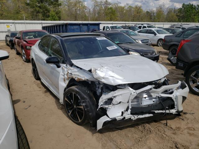 Salvage cars for sale from Copart Gaston, SC: 2020 Toyota Camry XSE