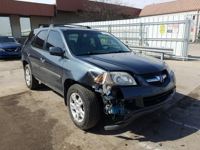 Salvage cars for sale from Copart Fort Wayne, IN: 2006 Acura MDX Touring